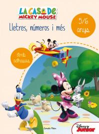 La casa de Mickey Mouse. Lletres, números i més 5/6